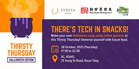 Thirsty Thursday (Halloween Edition): There's tech in snacks! tickets