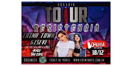 """China town/Giseve """"Tour Resistencia""""(Rosario) entradas"""
