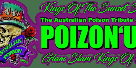 Poizon'Us plays Live at Cherry Bar Saturday Jan 22 tickets
