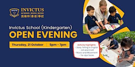 Invictus Kindergarten Open Evening tickets