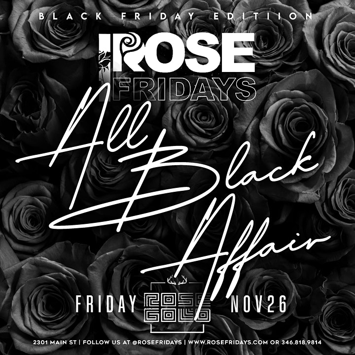 Rose Friday's  @ ROSE GOLD! image