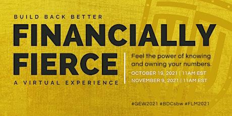 Become Financially Fierce tickets
