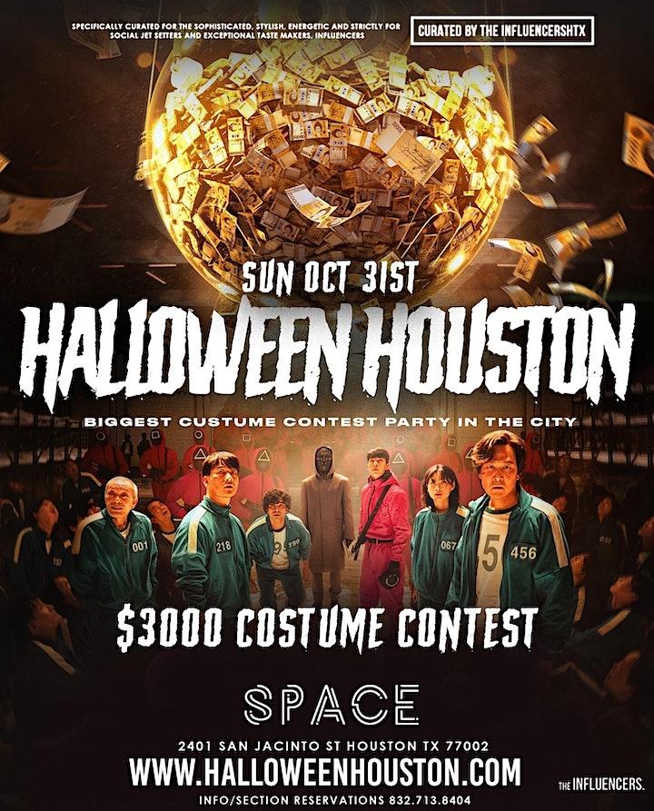 HALLOWEEN HOUSTON at SPACE NIGHTCLUB HOUSTON - RSVP NOW! FREE ENTRY & MORE image