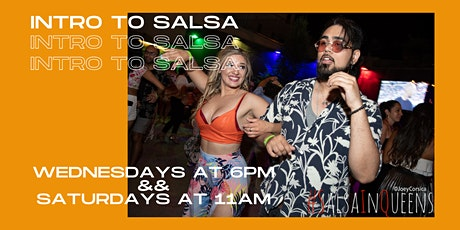 INTRO TO SALSA CLASS tickets