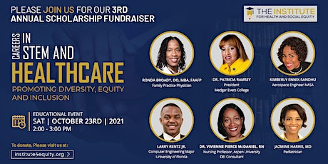 Scholarship Fundraiser, A Panel Discussion on Health and STEM Careers tickets