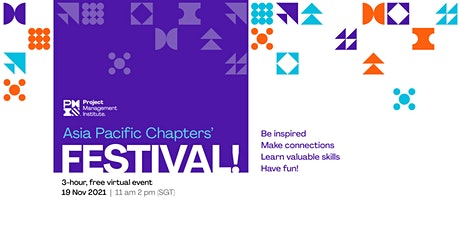 [Pre-registration!] PMI Asia Pacific Chapters' Festival tickets