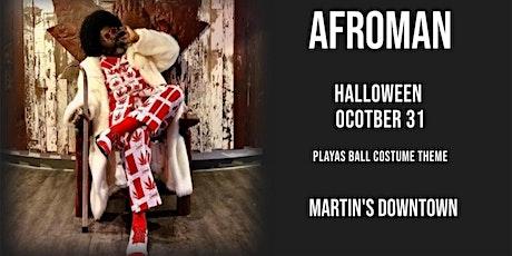 Afroman Playa's Ball Halloween at Martin's tickets
