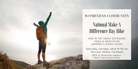 """Womeness """"Make a Difference"""" Trail Cleanup tickets"""