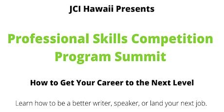 JCI Hawaii Professional Skills Competition Program Summit tickets
