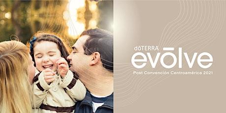 doTERRA Evolve Post convencion Centro America billets