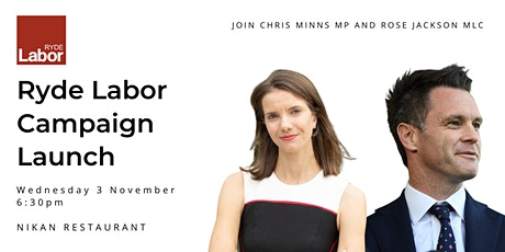 Ryde Labor Campaign Launch tickets