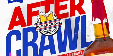 Crawl After Dark: The Official HU Bar Crawl After Party tickets