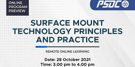 Surface Mount Technology Principles and Practice tickets