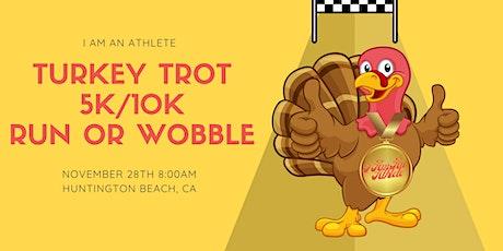 Turkey Trot - 5k/10k Run or Wobble tickets