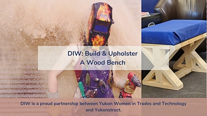 DIW- Construct & Upholster A Wooden Bench tickets