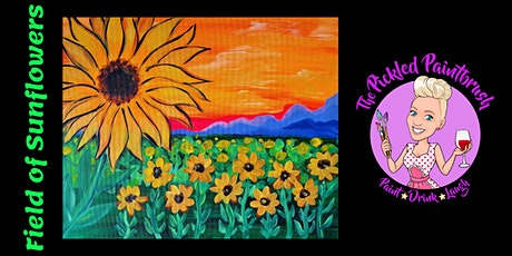 Painting Class - Sunflowers - October 28, 2021 tickets