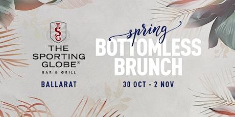 Spring, Bottomless Brunch - Ballarat tickets