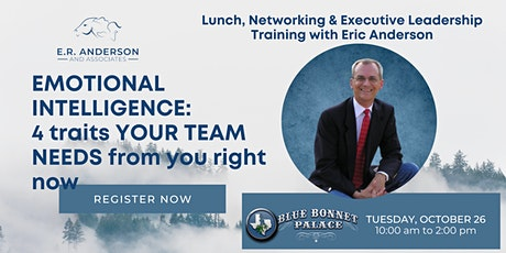 Lunch and Learn with Eric Anderson tickets
