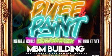 Puff and Paint 90's Glow In The Dark tickets