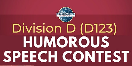 Division D Humorous Speech Contest tickets