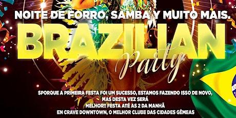 Brazilian Party - Downtown Minneapolis - CRAVE LOUNGE tickets