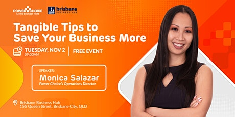 Tangible Tips To Help Save Your Business More tickets