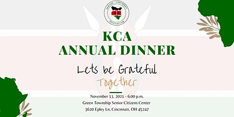 Kenyan-Cincinnati  Association 2021 Annual Dinner tickets