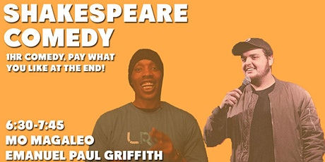 *FREE* Shakespeare Comedy tickets