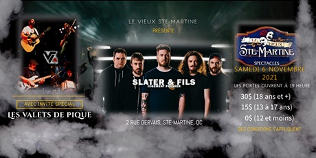 Slater & Fils et Les Valets de Pique billets