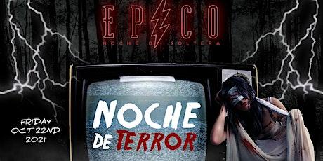 EPICO - NOCHE DE TERROR - HALLOWEEN REGGAETON PARTY 18+ tickets