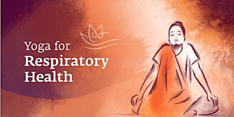 Yoga for Respiratory Health: Free Webinar tickets
