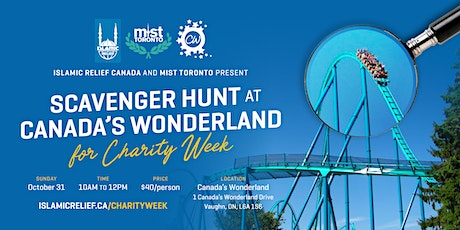 Scavenger Hunt at Canada's Wonderland for Charity Week tickets