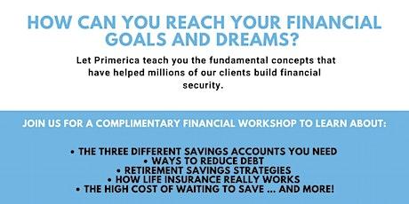 Financial Workshop tickets