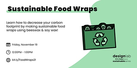 Sustainable Food Wraps tickets