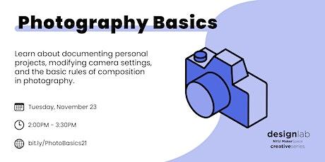 Photography Basics tickets