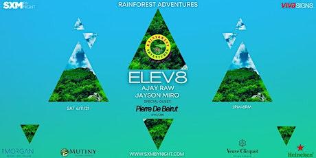 ELEV8 Hilltop Sunset Party @ Rainforest Adventures (4DJ Lineup ) tickets