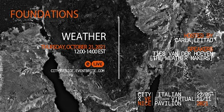 FOUNDATIONS : WEATHER tickets