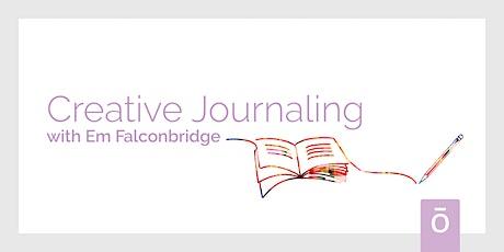 Creative Journaling with Em Falconbridge - Wed 3rd Nov, 7PM AEDT/ 9PM NZDT tickets