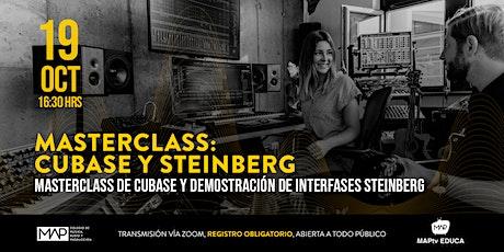 Masterclass: Cubase y Steinberg billets