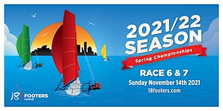 Spring Championship - Race 6 & 7 - November 14th 2021 tickets