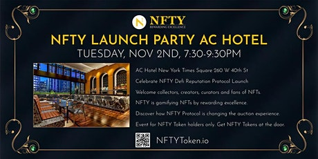 NFTY Launch Party - NFT.NYC tickets