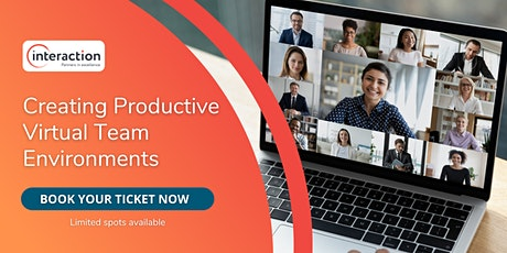 Creating Productive Virtual Team Environments tickets