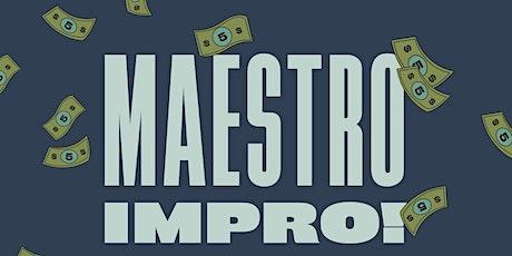 Maestro Improv tickets
