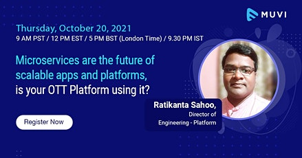 Microservices are the future of scalable apps and platforms tickets