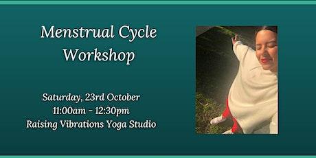 Menstrual Cycle Workshop tickets