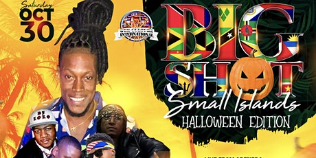 "Afro Caribbean Halloween ""Big Shot Small Islands"" tickets"