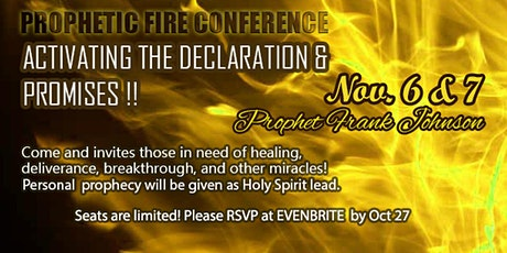 Prophetic Fire Conference 5782 tickets