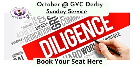 GVC Derby Sunday Service  17th October 2021   10:00am-12:30pm tickets