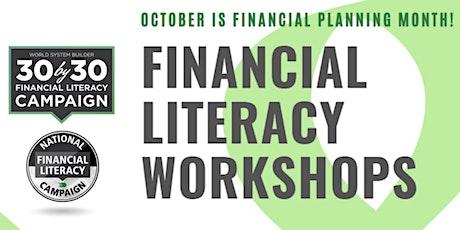Finance 101: Building Savings & Wealth tickets