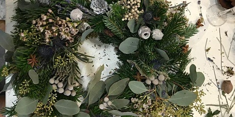 Christmas Wreath Making with Belle de Jour tickets
